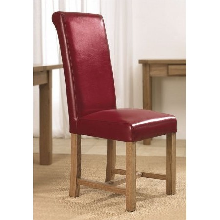 The Smith Collection - Windermere Roll Back Leather Chair
