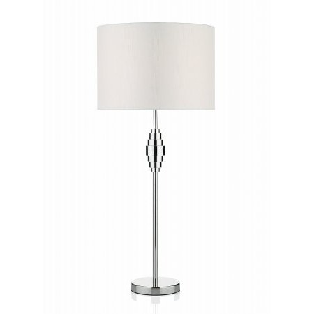 Dar Lighting - Adonis Metal Table Lamp complete with Shade
