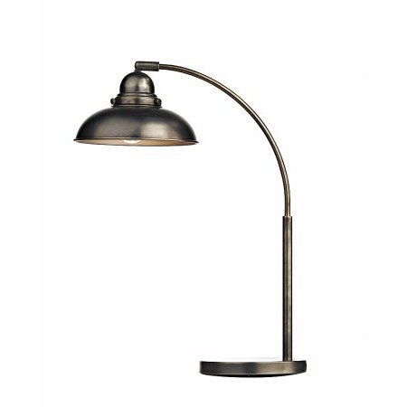 Dar Lighting - Dynamo Table Lamp Antique Chrome