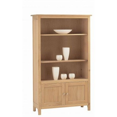 Corndell - Nimbus Medium Bookcase with Cupboard