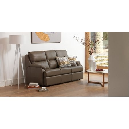 G Plan Upholstery - Hartford 3 Seater Leather Sofa