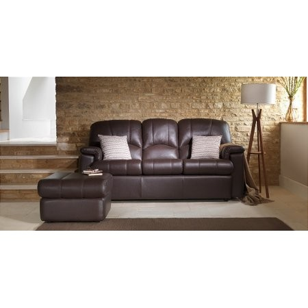 G Plan Upholstery - Chloe 3 Seater Leather Sofa