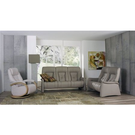 Cumuly - Themse Leather Recliner Suite 4798