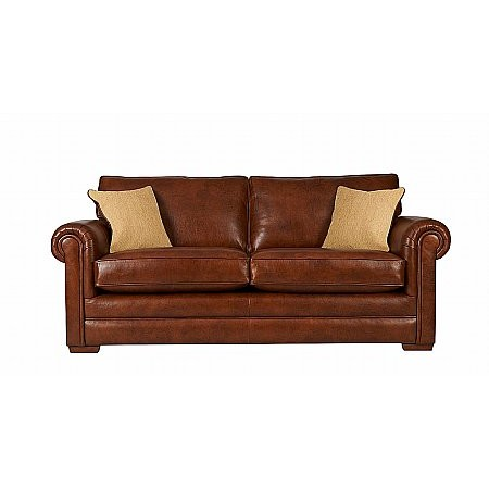 Parker Knoll - Canterbury 2 Seater Leather Sofa