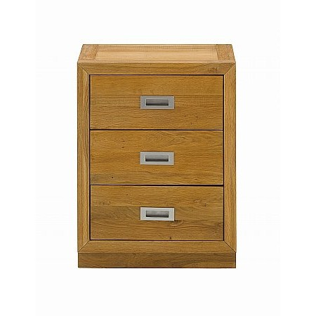 The Smith Collection - Coniston 3 Drawer Bedside chest