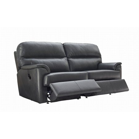 G Plan Upholstery - Watson 3 Seater Leather Recliner Sofa