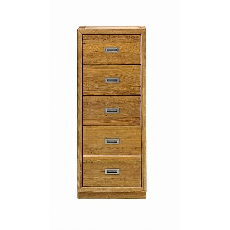 The Smith Collection - Coniston 5 Drawer Tallboy