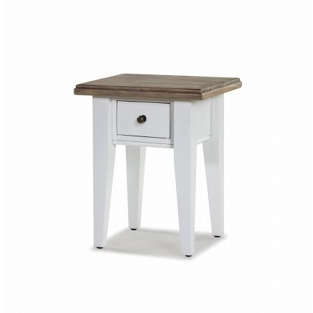 The Smith Collection - Lulworth 1 Drawer Lamp Table
