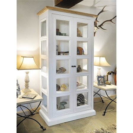 The Smith Collection - Lulworth 2 Door Glazed Display Unit