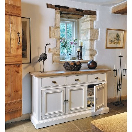 The Smith Collection - Lulworth 3 Drawer Sideboard