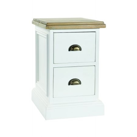 The Smith Collection - Lulworth 2 Drawer Bedside Cabinet