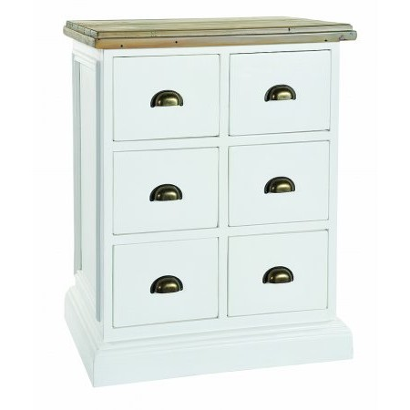 The Smith Collection - Lulworth 6 Drawer Chest