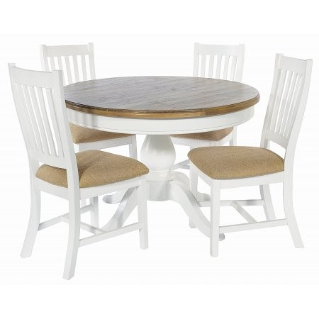 The Smith Collection - Lulworth Round Table and Chairs