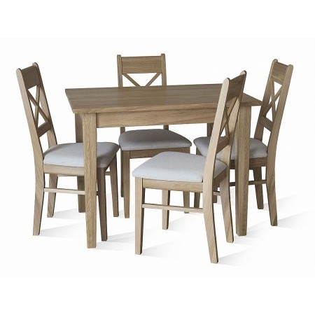 TCH - Windsor Kitchen Table  plus Small Cross Chairs