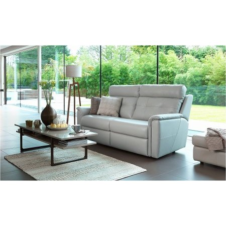 G Plan Upholstery - Maple 3 Seater Leather Sofa