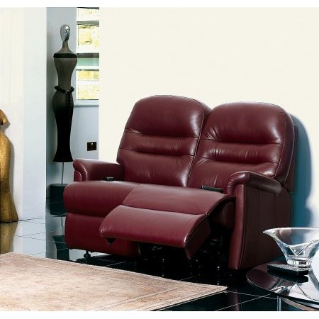 Sherborne - Keswick 2 Seater Leather Reclining Settee