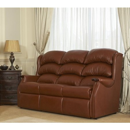 Celebrity - Westbury 3 Seater Leather Sofa