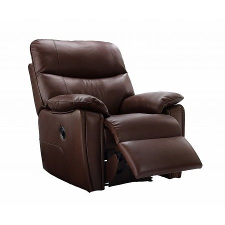 G Plan Upholstery - Henley Leather Recliner Chair
