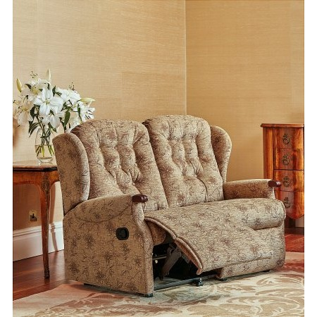 Sherborne - Lynton Knuckle Small 2 Seater Reclining Settee