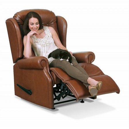 Sherborne - Lynton Standard Leather Recliner