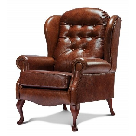 Sherborne - Lynton Fireside Leather Chair