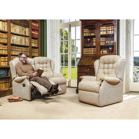 Sherborne - Lynton Knuckle 2 Seater Reclining Settee