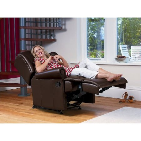 Sherborne - Malvern Small Leather Recliner