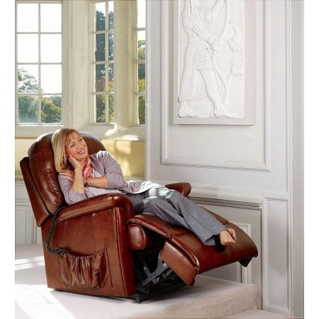 Sherborne - Keswick Royale Leather Lift  plus Rise Recliner Chair