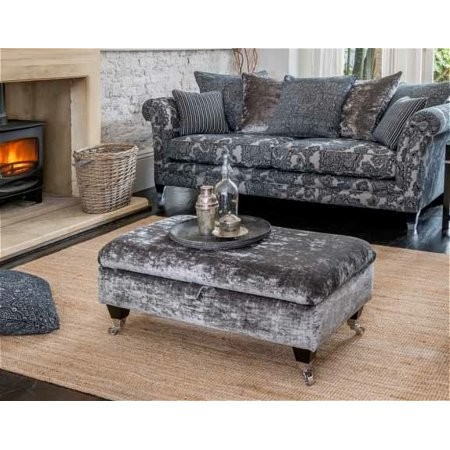 Alstons Upholstery - Lowry Legged Ottoman