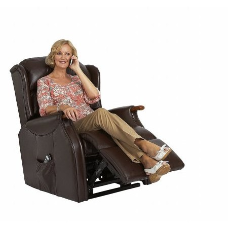 Celebrity - Woburn Compact Leather Recliner