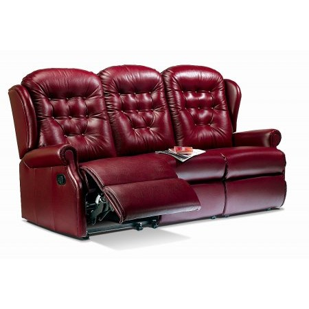 Sherborne - Lynton 3 Seater Leather Recliner Sofa