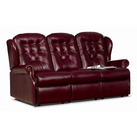 Sherborne - Lynton 3 Seater Leather Sofa