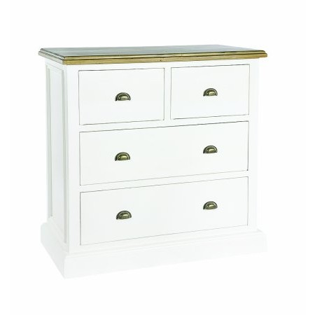 The Smith Collection - Lulworth 2 over 2 Drawer Chest