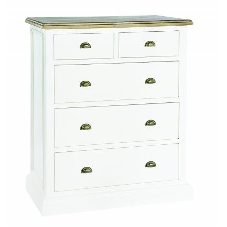 The Smith Collection - Lulworth 2 over 3 Drawer Chest