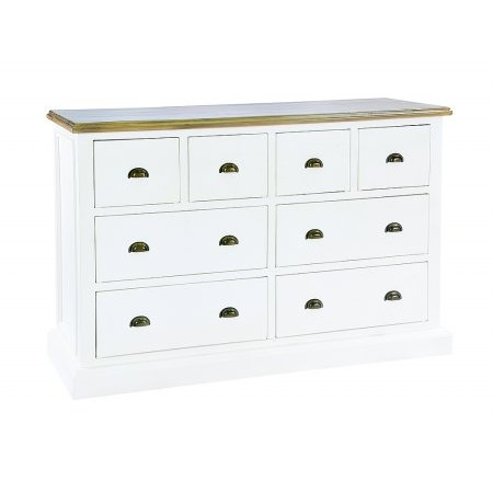 The Smith Collection - Lulworth 4 over 4 Drawer Chest