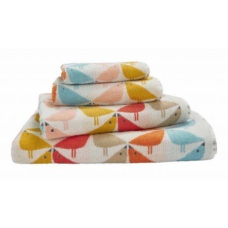 Bedeck - Scion Lintu Towels in Chalky Brights