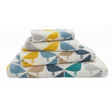 Bedeck - Scion Lintu Towels in Cool Lagoon