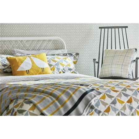 Bedeck - Scion Lintu Bedding In Dandelion  plus Pebble