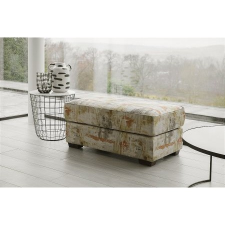 Collins And Hayes - Footstool Large Fabric