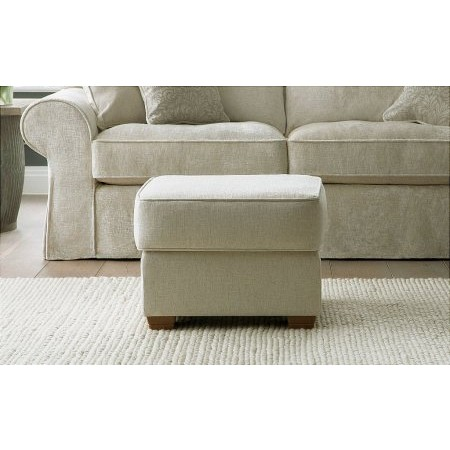 Collins And Hayes - Footstool Small Upholstered