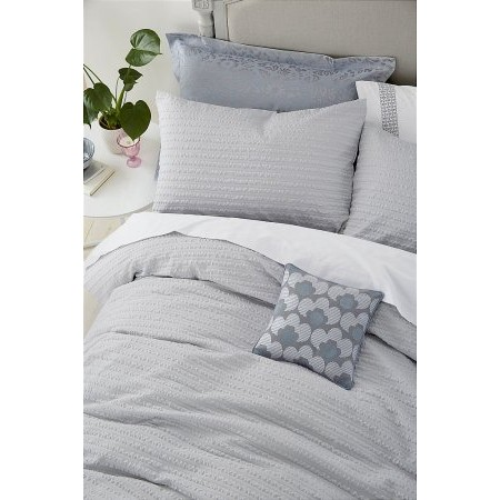 Helena Springfield - Mabel Bedding in Silver