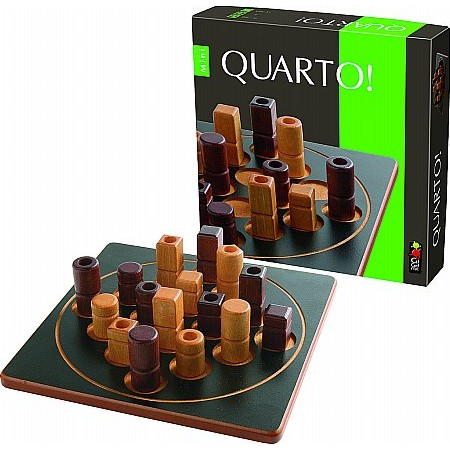 Coiledspring Games - Quarto Board Game Gigamic