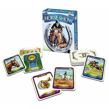 Coiledspring Games - Horse Show Card Game Gamewright