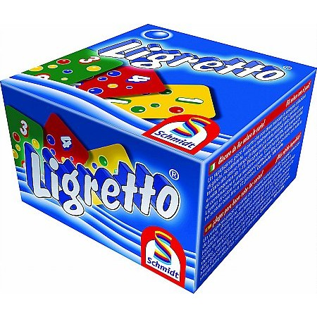 Coiledspring Games - Ligretto Card Game Blue