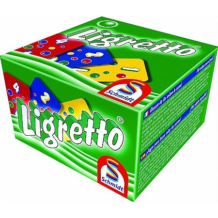 Coiledspring Games - Ligretto Card Game Green