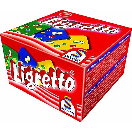 Coiledspring Games - Ligretto Card Game Red