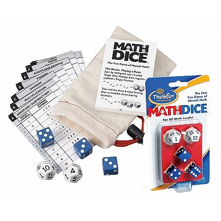 Coiledspring Games - Math Dice by Think Fun