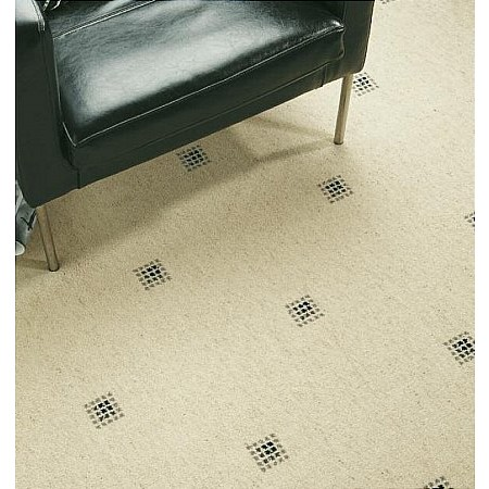 Axminster Carpets - Picasso Princetown Snowdrop Black