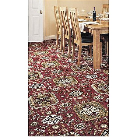 Axminster Carpets - Royal Turkey Chirvan Panel Royal Dartmouth