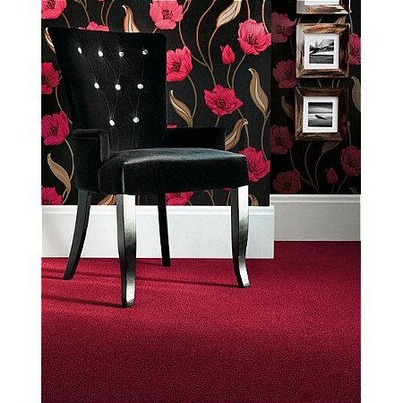 Adam Carpets - Castlemead Twist Turkey Red CD34